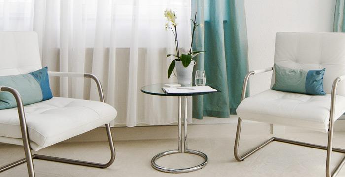 Psychotherapiepraxis: die Räume