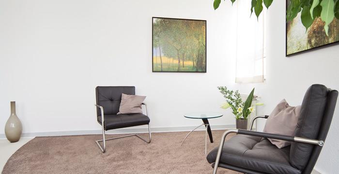 Psychotherapie: die Räume